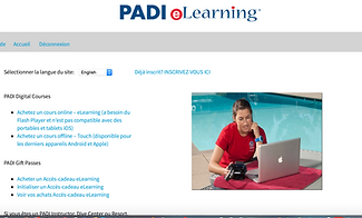 How to use Padi eLearning Tropicalsub Diving