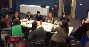 Table Read, Pop Up Kid by MT Cozzola