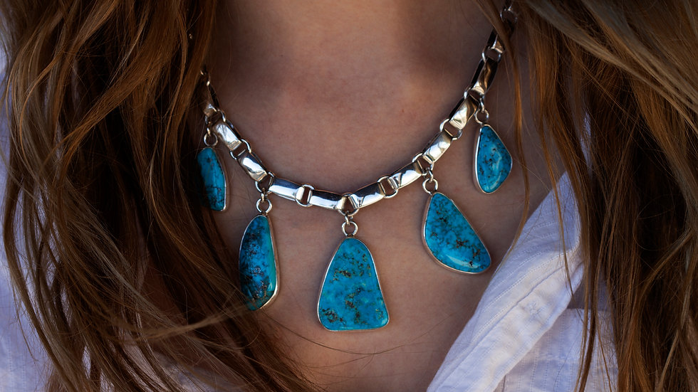 Morenci Turquoise drops