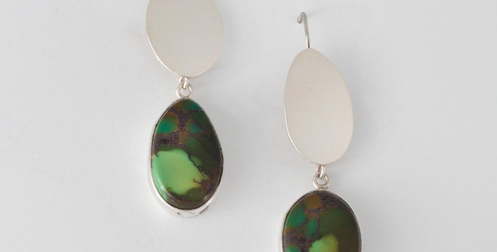 Earth E earrings