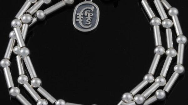 Romance 3 strand Dot Dash Bracelet