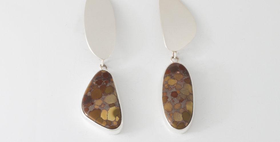 Earth C earrings