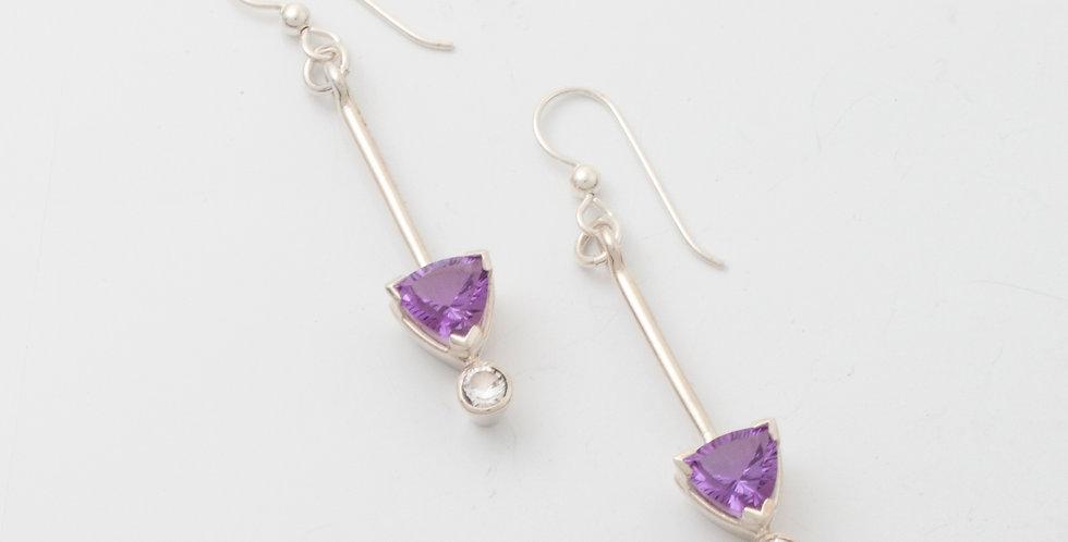 Trillion V1 earrings