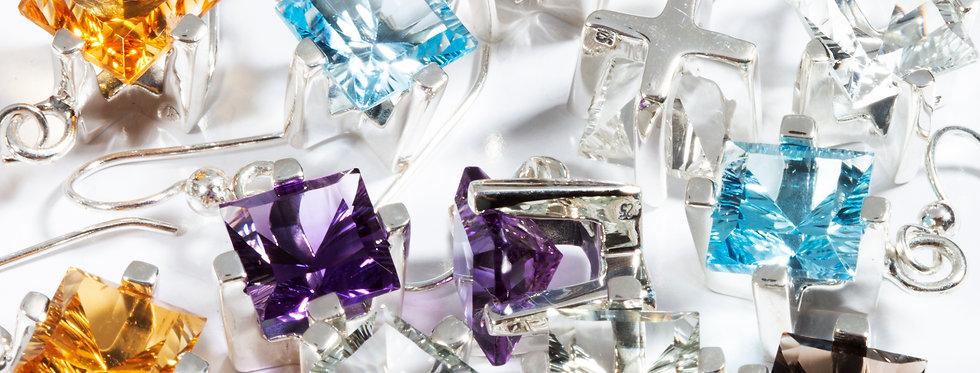 Dream Square earrings
