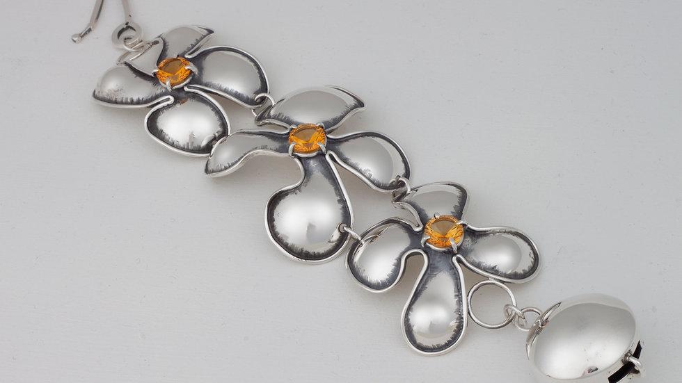 Couture Sunflower link bracelet