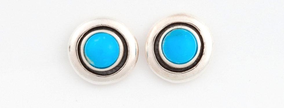 Thunderbird dots earrings