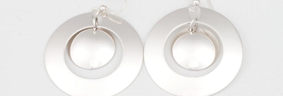 Orbit L earrings