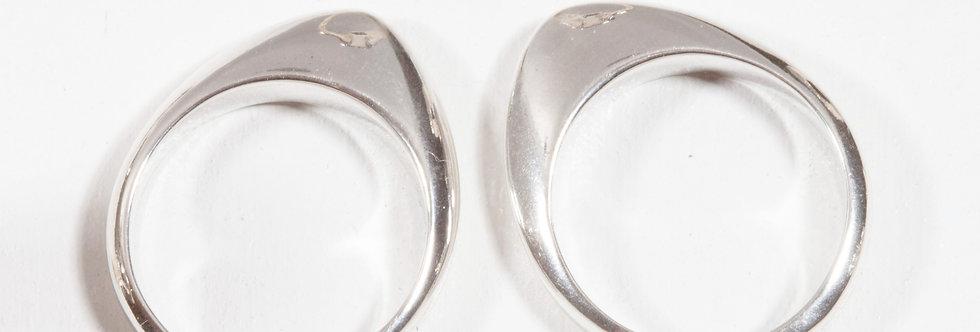 Tribal Blade ring
