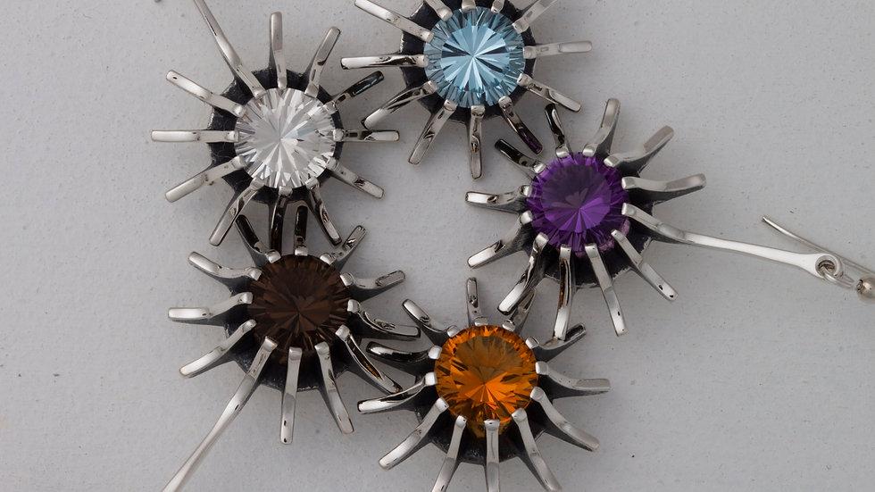 Supernova Star Earrings