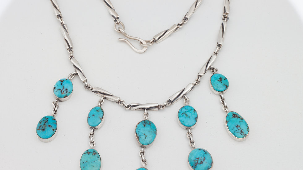 Delicate Necklace Tyrone turquoise