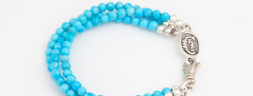 Arizona sky triple strand bracelet