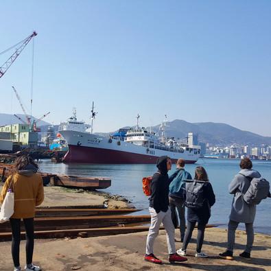 Chantier naval de Busan