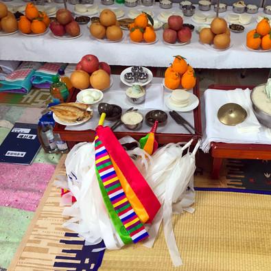 Jeju-do cérémonie