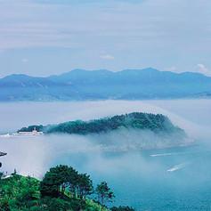 Yeosu, île Odongdo