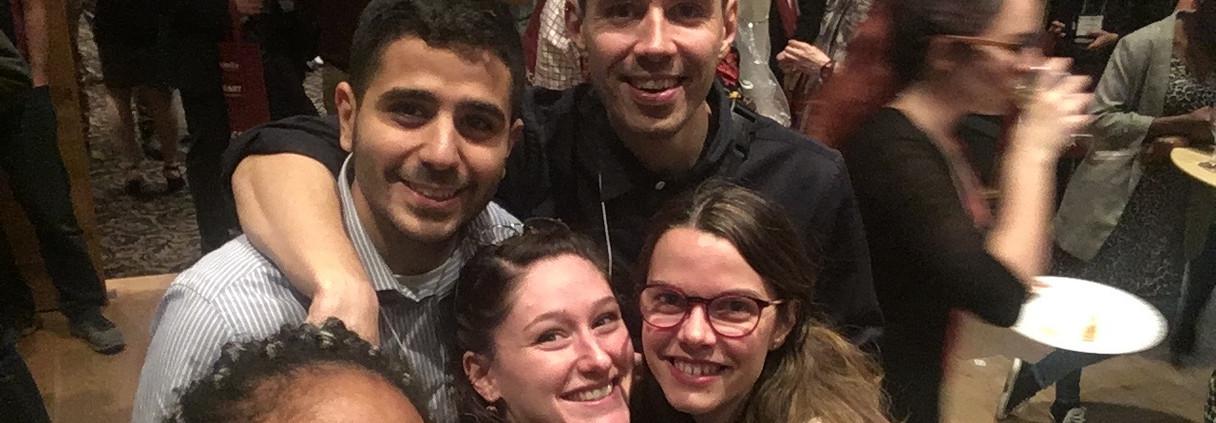 Yarélys, Ahmed, Bianca, Adrien, Léa
