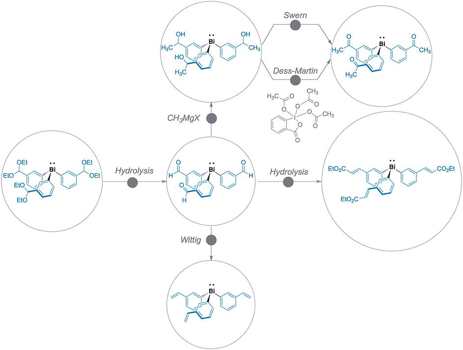 Functionalization organobismuth.tiff