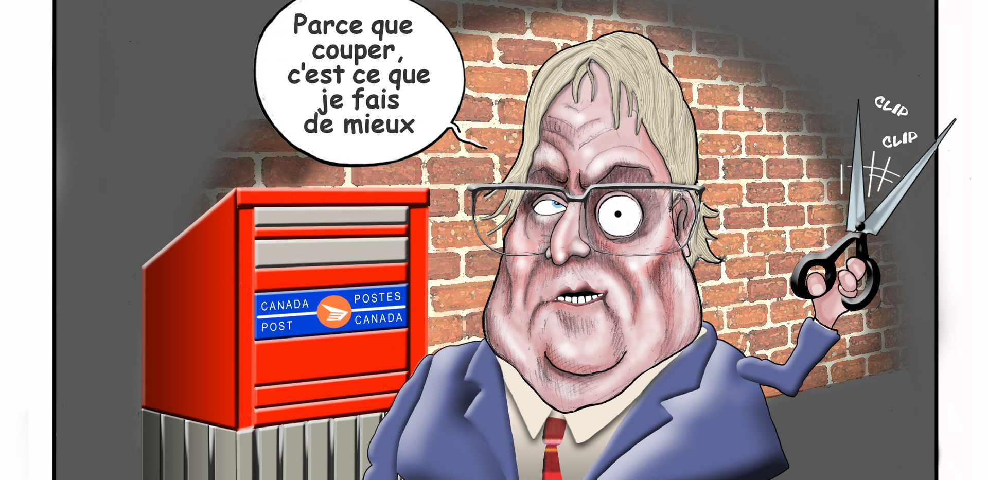 action_chomage_cote_nord_caricature_gaetan_barrette