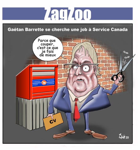 action_chomage_cote_nord_caricature_gaetan_barrette