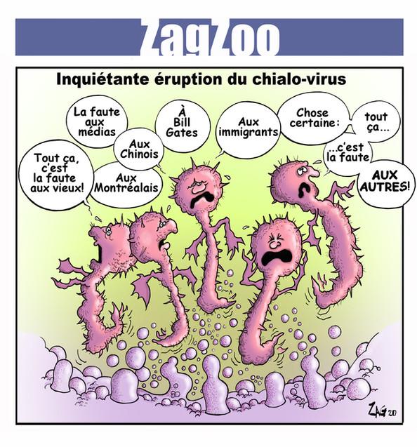 action_chomage_cote_nord_caricature_coronavirus