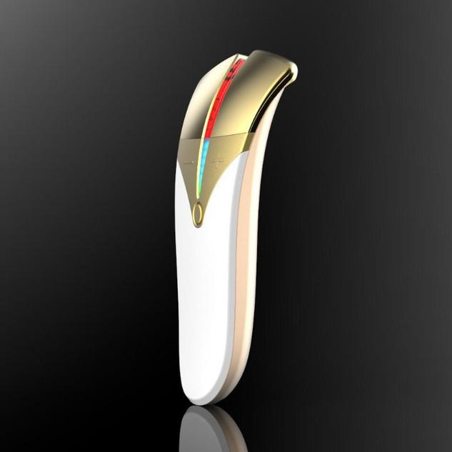 Galvanic beauty care device