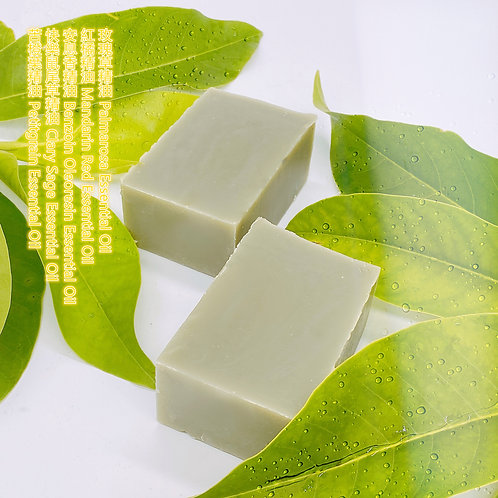 忘憂苦橙葉精油手工皂 130g ± 10g Soothing Petitgrain Essential Oil Handmade Soap Bar