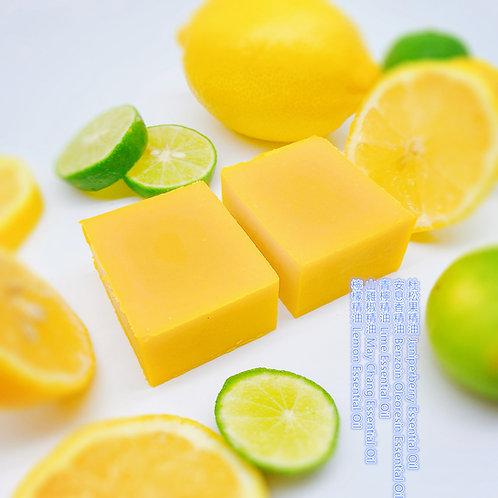 活力檸檬精油手工皂 130g ± 10g Vital Lemon Essential Oil Handmade Soap Bar
