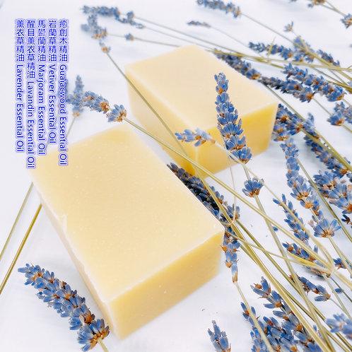 甜夢薰衣草精油手工皂 130g ± 10g Dreaming Lavender Essential Oil Handmade Soap Bar