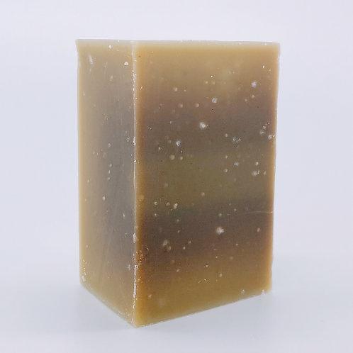 有機薄荷涼涼手工皂一件 130g ± 10g —夏季限定 Organic Mint Cooling Handmade Soap Bar