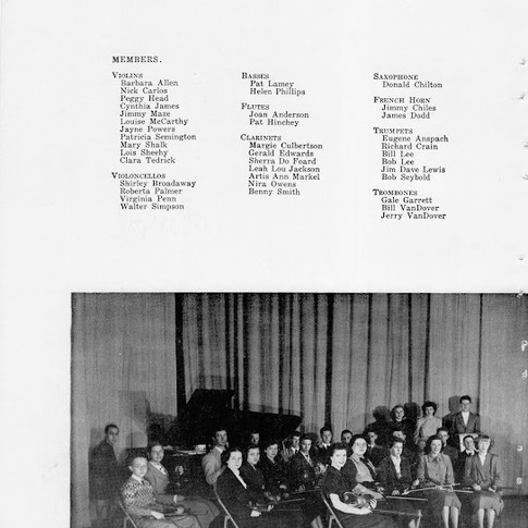 1950 Orchestra Pg 1