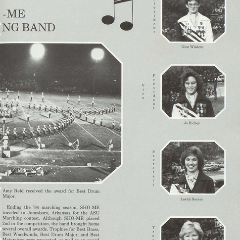 1984-85 Marching Band Pg 2
