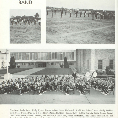 1971-72 Maroon Band