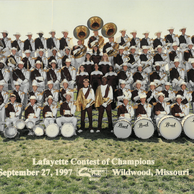 1997-98 Marching Band