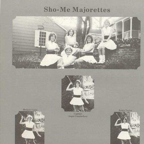 1983-84 Majorettes