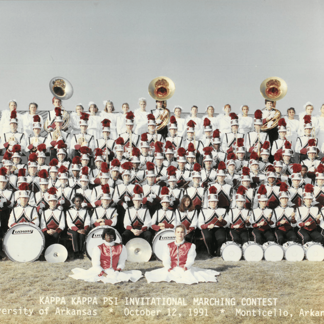 1991-92 Marching Band