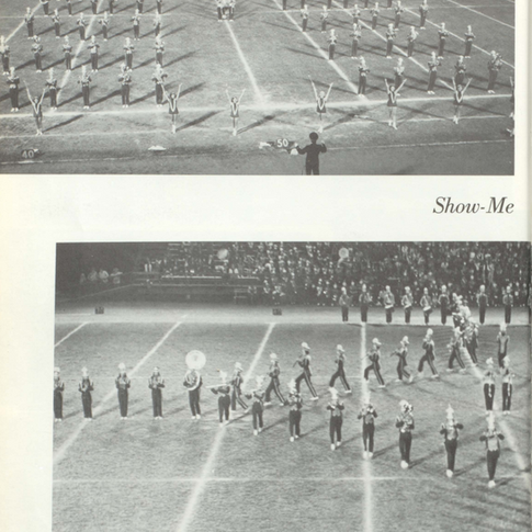 1973-74 Marching Band
