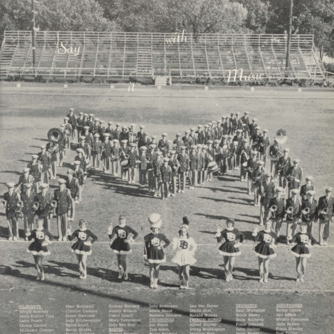 1957 Marching Band