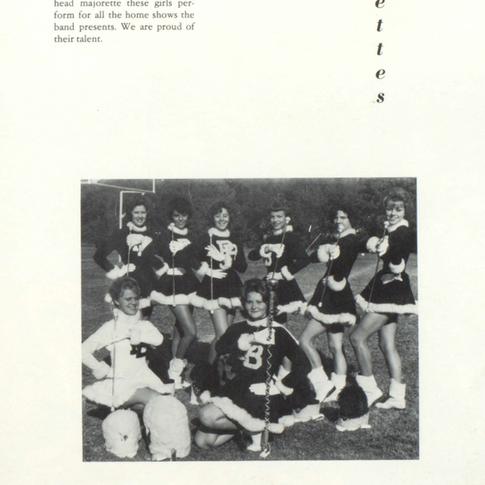 1963-64 Majorettes