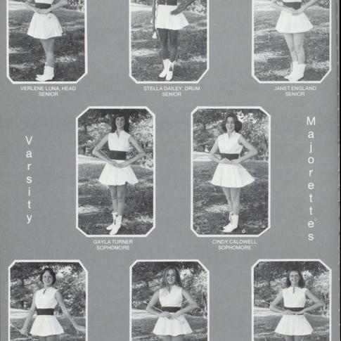 1979-80 Majorettes