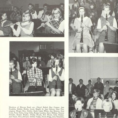 1968-69 Maroon Band
