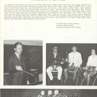 1969-70 Maroon Band