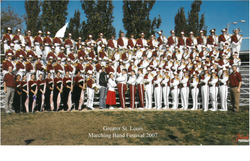 2007 Marching Band Greater St Louis-1