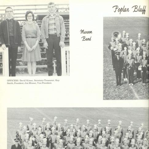 1964-65 Maroon Band