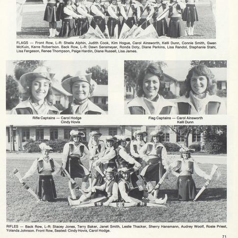 1982-83 Color Guard
