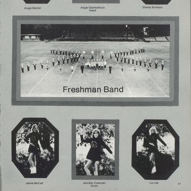 1980-81 Freshman Band