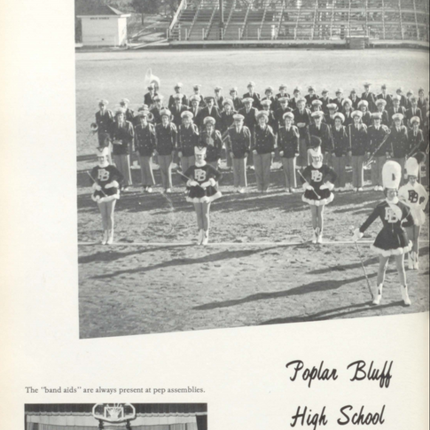 1961-62 Marching Band