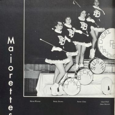 1962-63 Majorettes