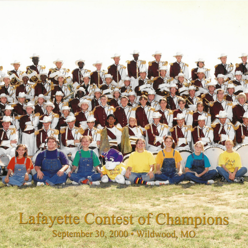 2000-01 Marching Band
