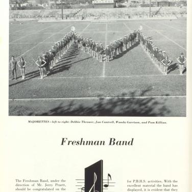 1966-67 Freshmen Band