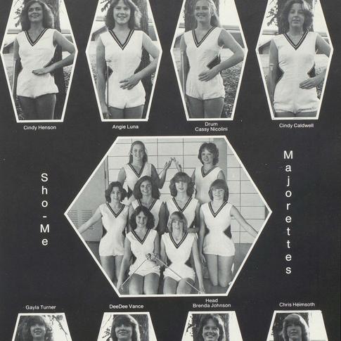 1980-81 Majorettes