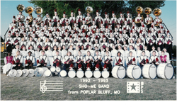 1992-93 Marching Band-1